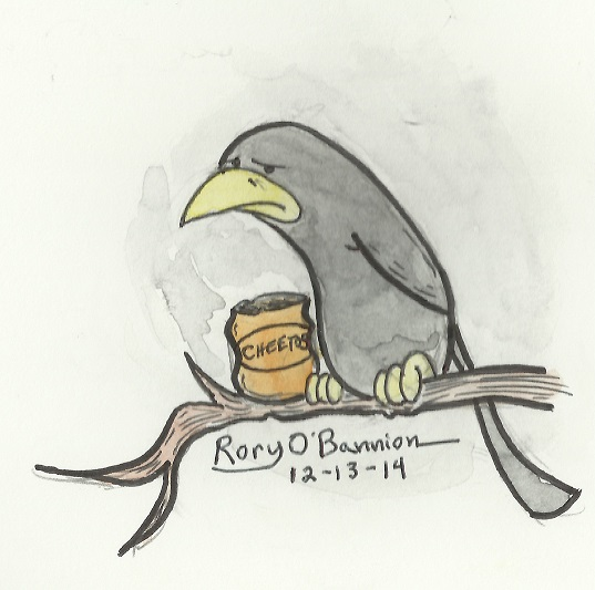 George the Crow by Rory O'Bannion
